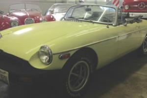 1976 MG MGB ROADSTER