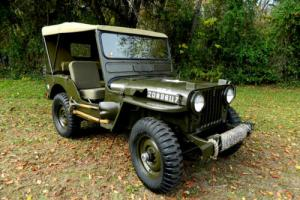 1951 Willys Military M38 Military M38