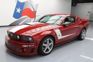 2008 Ford Mustang ROUSH 427R S/C 5-SPEED LEATHER