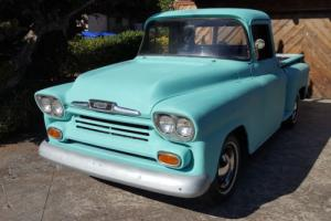 1958 Chevrolet Other Pickups Custom Cab