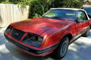 1983 Ford Mustang Photo