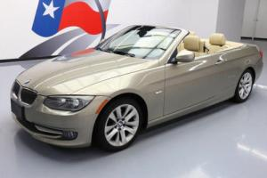 2011 BMW 3-Series 328I CONVERTIBLE HARD TOP HTD LEATHER NAV