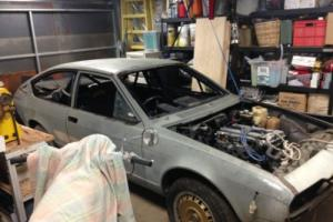 alfa romeo alfetta gtv track car