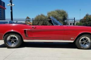 1968 FORD MUSTANG GT CONVERTIBLE IMMACULATE COND FOR AGE
