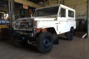 Early 1970's Nissan Patrol G60
