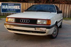 1985 audi cuope GT 5 speed Photo