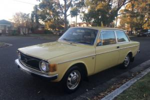 1973 volvo 142 delux coupe manual with VERY RARE factory SUNROOF Photo