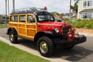1949 Dodge Power Wagon Woody