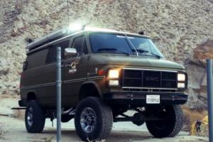 1985 GMC Vandura 3500 1 TON FACTORY PATHFINDER 4X4-SPECIAL VEHICLE-