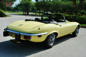 1974 Jaguar E-Type V-12 A/C 27K Miles Numbers Matching!