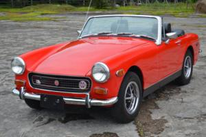 1972 MG Midget (Red) Photo