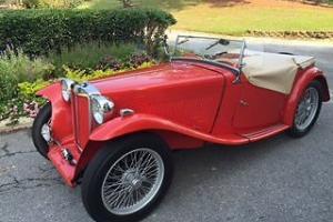 1949 MG T-Series MG TC