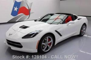 2014 Chevrolet Corvette 2LT AUTO NAV REAR CAM RED SEATS