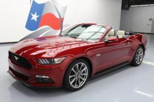 2015 Ford Mustang 5.0 GT PREMIUM CONVERTIBLE NAV