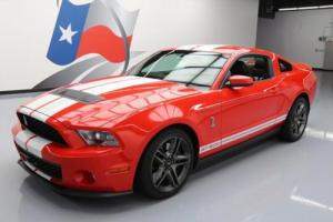 2011 Ford Mustang SHELBY GT500 SVT COBRA 6SPEED