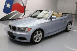 2011 BMW 1-Series 135I CONVERTIBLE 6-SPEED HTD SEATS NAV Photo