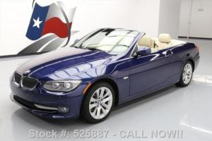 2013 BMW 3-Series 328I HARD TOP CONVERTIBLE AUTOMATIC ALLOYS