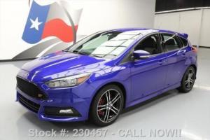 2015 Ford Focus ST HATCHBACK ECOBOOST 6-SPD REAR CAM