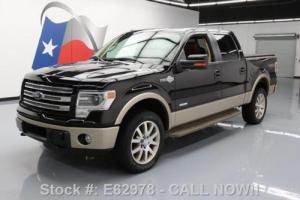 2014 Ford F-150 KING RANCH 4X4 ECOBOOST SUNROOF NAV