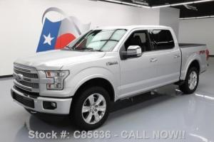 2015 Ford F-150 PLATINUM CREW 5.0 FX4 4X4 PANO ROOF NAV