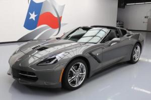 2016 Chevrolet Corvette LT TARGA TOP AUTOMATIC REAR CAM