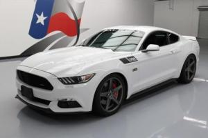 2015 Ford Mustang SALEENYELLOW LABEL S/C 6-SPD