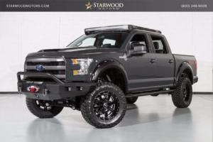 2016 Ford F-150 Ford F150 Crew Cab 4wd FX4