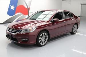 2014 Honda Accord SPORT SEDAN AUTO REARVIEW CAM