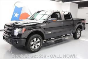 2013 Ford F-150 FX4 SUPERCREW ECOBOOST 4X4 REAR CAM