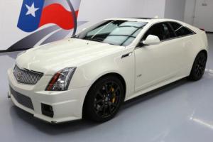 2013 Cadillac CTS -V COUPE S/C SUNROOF NAV REACARO