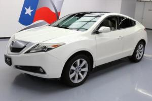 2010 Acura ZDX SH-AWD PANO ROOF LEATHER REAR CAM