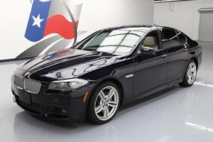 2012 BMW 5-Series 550I M SPORT SUNROOF NAV REAR CAM DVD HUD