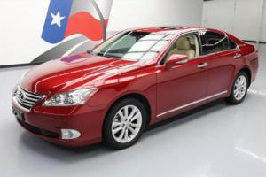 2011 Lexus ES 350 3.5L V6 SUNROOF CLIMATE LEATHER