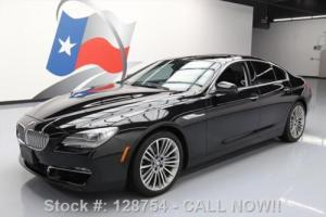 2013 BMW 6-Series 650I GRAN COUPE PANO ROOF NAV REAR CAM Photo