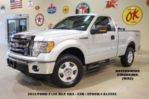 2012 Ford F-150 XLT 4X4 CLOTH,MICROSOFT SYNC,53K,WE FINANCE