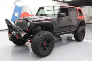 2013 Jeep Wrangler UNLTD RUBICON 4X4 LIFT NAV 37'S