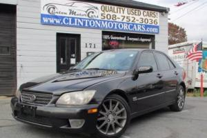 2004 Lexus IS Base 4dr Sedan Sedan 4-Door Automatic 5-Speed