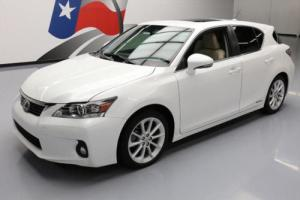 2013 Lexus CT 200H HYBRID HTD SEATS SUNROOF REAR CAM