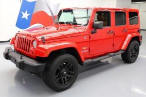 2011 Jeep Wrangler UNLTD SAHARA HARD TOP 4X4 NAV