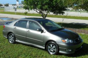 2008 Toyota Corolla Carfax Certified S~Sporty 5 Speed~Graphite Wheels