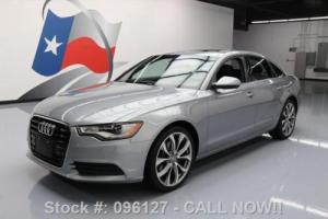 2013 Audi A6 2.0T PREMIUM PLUS SUNROOF NAV REAR CAM