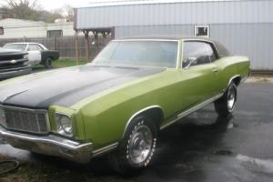 1971 Chevrolet Monte Carlo hard top coupe