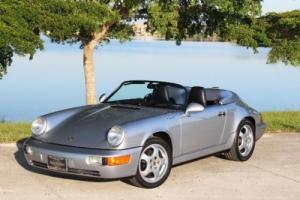 1994 Porsche 911 VERY RARE POLAR SILVER CARRERA SPEEDSTER