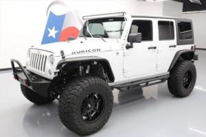 2014 Jeep Wrangler UNLTD RUBICON 4X4 HARD TOP LIFT