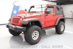 2012 Jeep Wrangler SPORT 4X4 AUTO LIFT 35'S ALLOYS