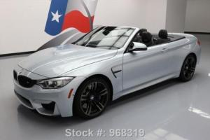 2015 BMW M4 CONVERTIBLE EXECUTIVE TURBO NAV HUD