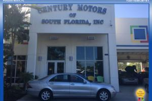 2000 Mercedes-Benz S-Class Auto Navigation Leather AC SunRoof RWD Michelin Tires