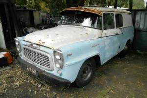 1962 International IHC AA110 panel van with AA120 rear axle. RARE!!