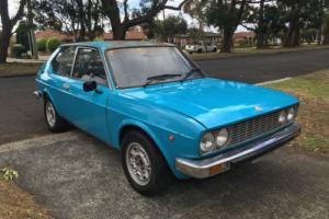 RARE 1976 fiat 128 3p coupe manual