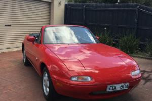 Mazda MX-5 1991 NA 184000 Km's. Full Service History. Drives perfect. Very Tidy!